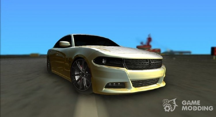 Dodge Charger RT 2015 for GTA Vice City