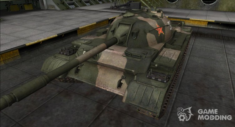 The skin for the Type 62 for World Of Tanks