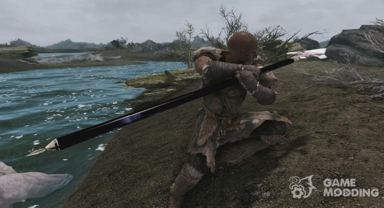 Spear of Bitter Mercy - A special Morrowind Artifact for TES V: Skyrim