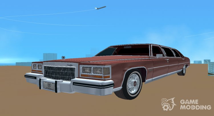 1985 Cadillac Fleetwood Brougham Limousine for GTA Vice City