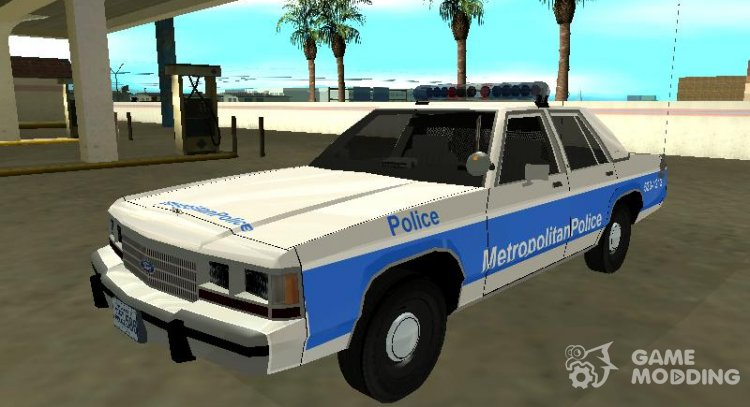 Ford LTD Crown Victoria 1991 Massachusetts Metro Police for GTA San Andreas