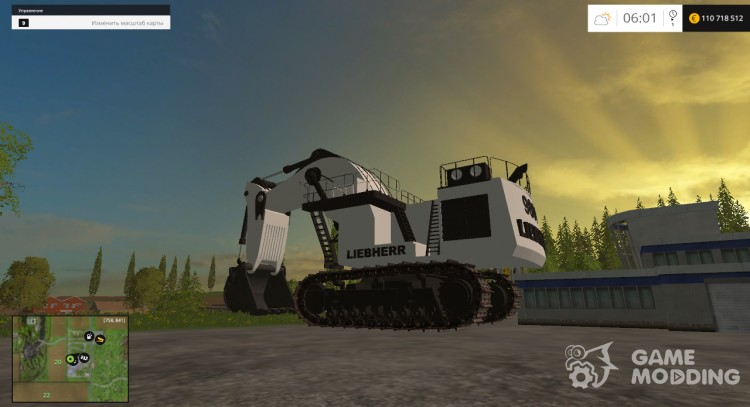 Liebherr 9800 v 0.1 Beta for Farming Simulator 2015