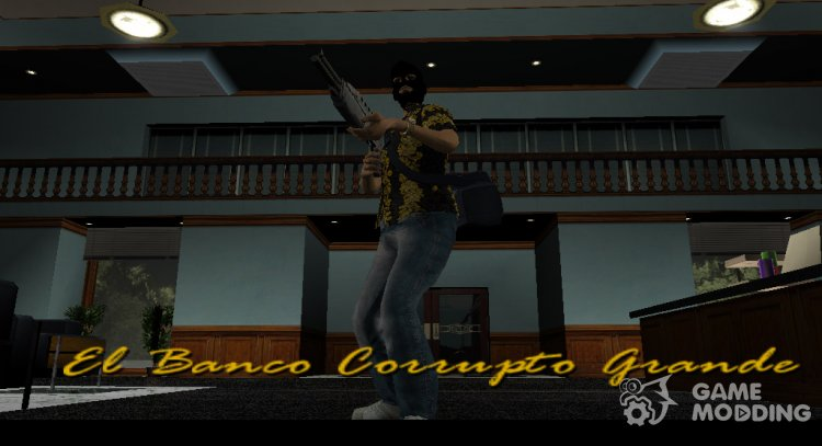 Bank Robbery Mod for GTA Vice City