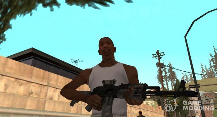 Guns pack by  ardager02 для GTA San Andreas