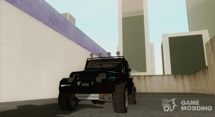 Jeep Wrangler '86 для GTA San Andreas
