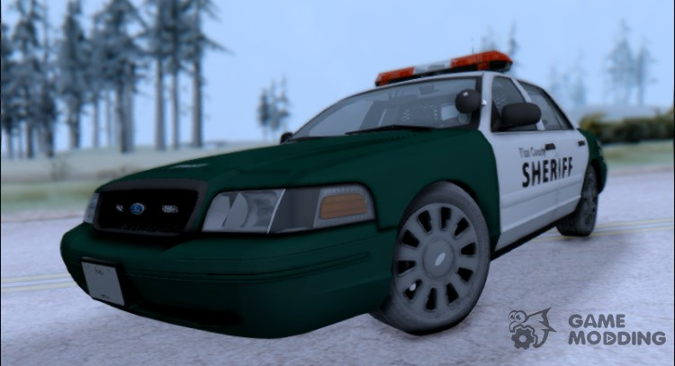 2010 Ford Crown Victoria Flint County Sheriff's Office для GTA San Andreas