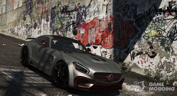 Mercedes-Benz AMG GT S Mansory for GTA 5
