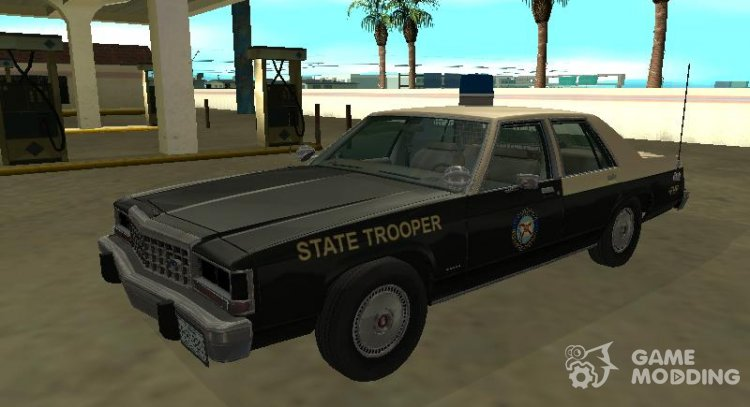 Ford LTD Crown Victoria 1987 Florida Highway Patrol for GTA San Andreas