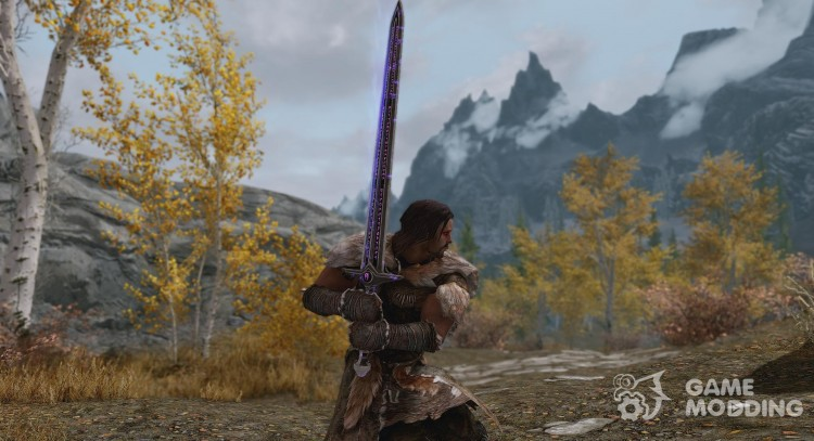 Coldharbour Greatsword for TES V: Skyrim