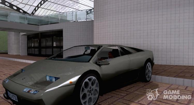 Lamborghini Diablo Vt 6 0 For Gta San Andreas