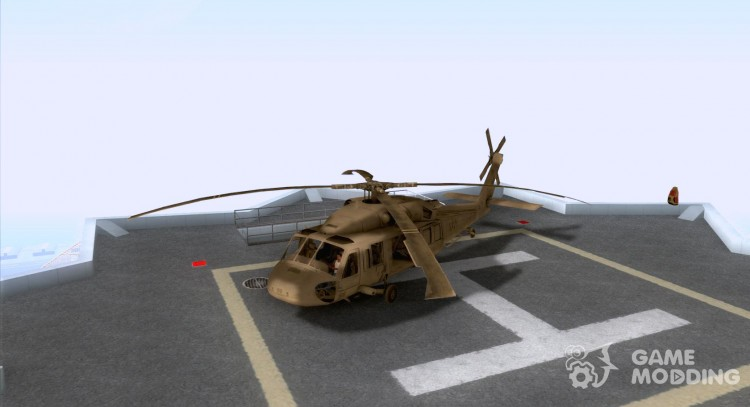 The UH-60 Black Hawk for GTA San Andreas