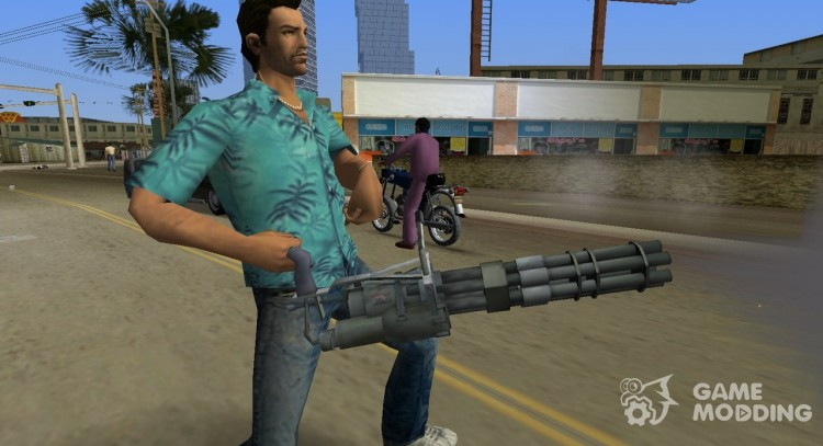 Mini-Gun from Saints Row 2 для GTA Vice City