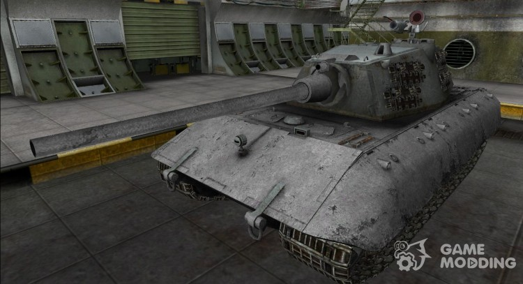 Remodelling for e-100 for World Of Tanks