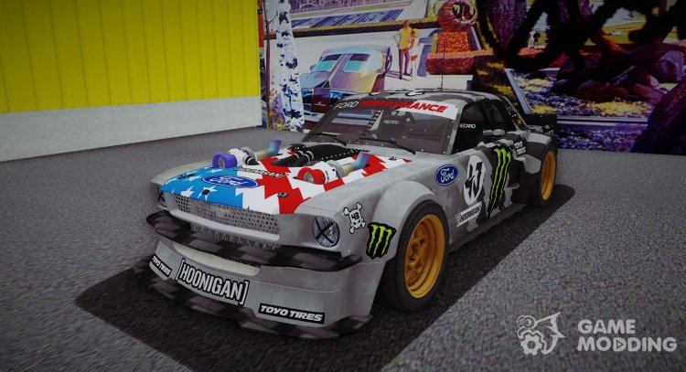 Ford Mustang Hoonicorn for GTA 3