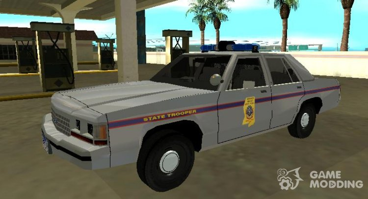 Ford LTD Crown Victoria 1991 Mississippi State Trooper for GTA San Andreas