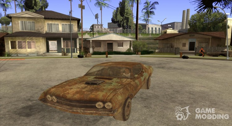Extreme rust 1970 Ford Torino for GTA San Andreas