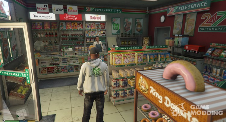 Robbable 24/7 Store Locations 2.0 for GTA 5