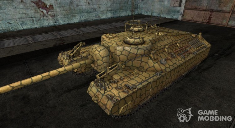 Skin for T95 No. 10 for World Of Tanks