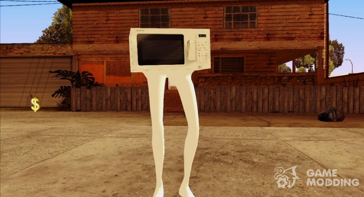 Microwave HD for GTA San Andreas