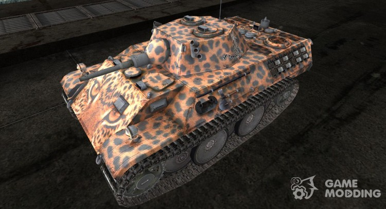 шкурка для VK1602 Leopard № 54 для World Of Tanks