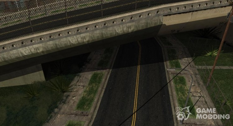 GTA 5 Roads Textures v3 Final (Only LS) для GTA San Andreas