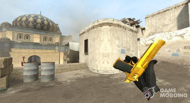 Golden Deagle for Counter-Strike Source