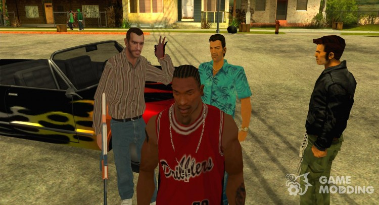 The VERSION 2.0 team for GTA San Andreas