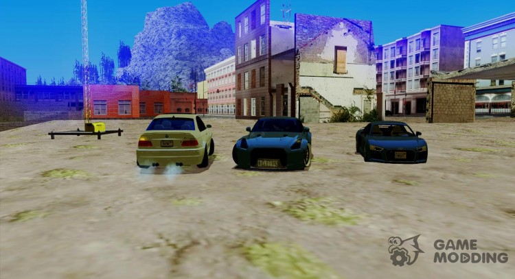 Pak machines adapted to the AMS and IVF for GTA San Andreas