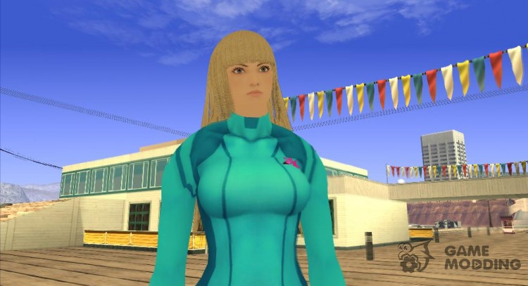 Tekken TT2 Lili Zero Suit for GTA San Andreas