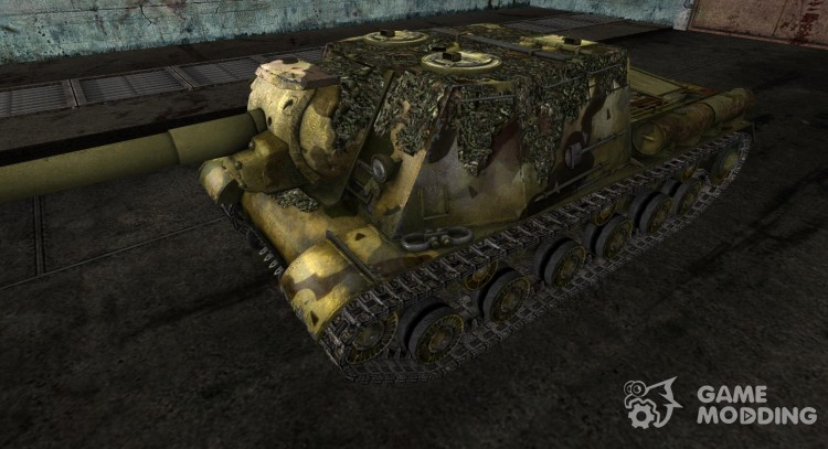 ISU-152 dated YnepTbIi (without cimmerita and stars) for World Of Tanks