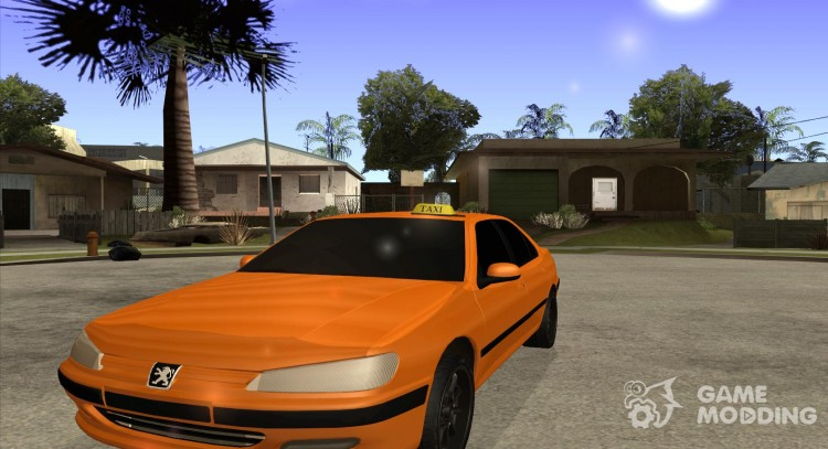 Peugeot 406 Taxi for GTA San Andreas