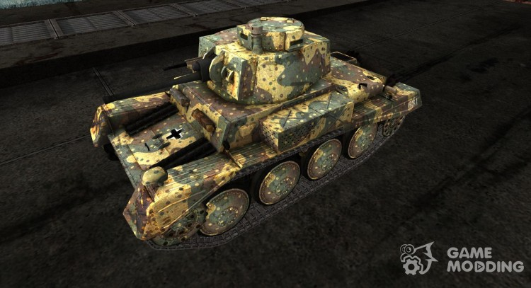 The Panzer 38 na for World Of Tanks