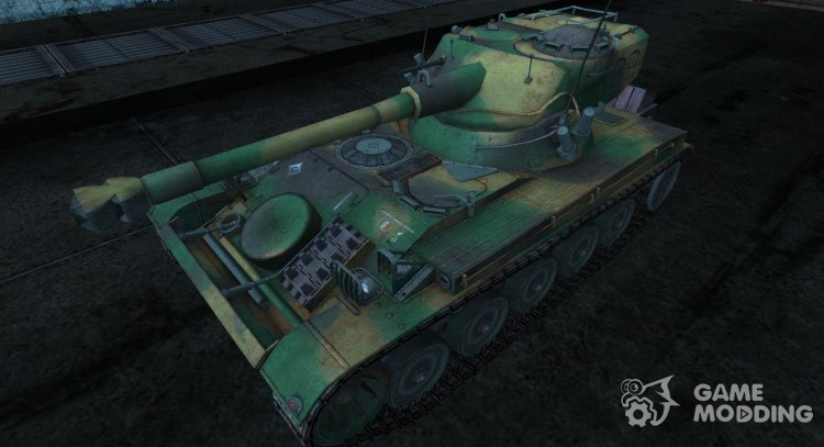 Skin for AMX 13 75 No. 27 for World Of Tanks