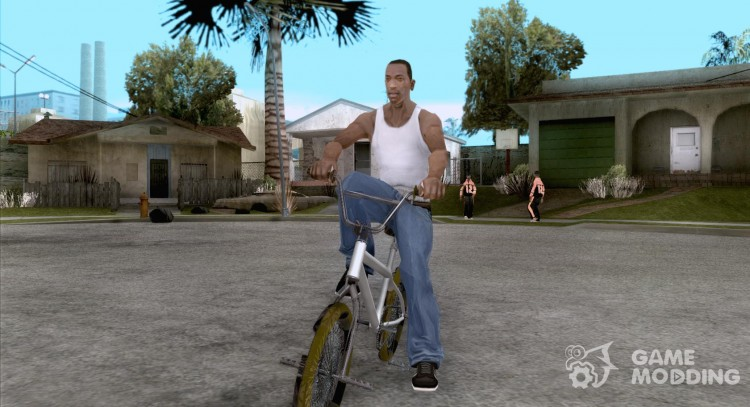 Zero's BMX YELLOW tires для GTA San Andreas