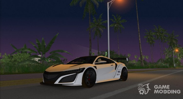 Honda NSX Liberty Walk for GTA Vice City