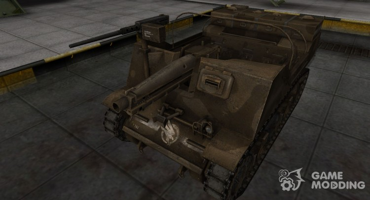 Skin-C&C GDI to T82 for World Of Tanks