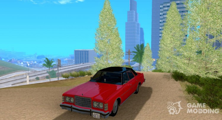 Ford LTD Brougham 4 door 1975 for GTA San Andreas