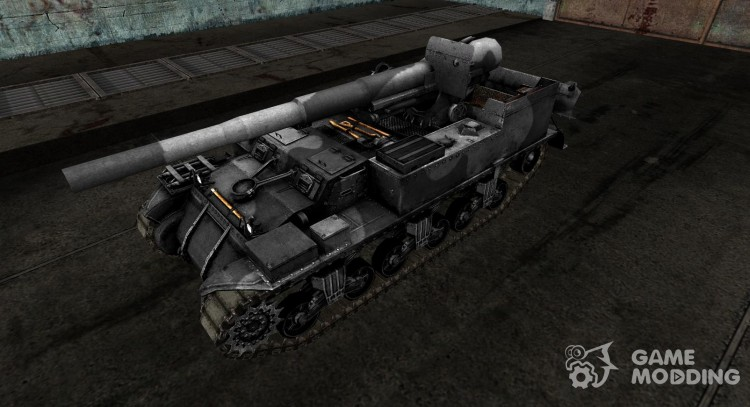 Skin for M12 for World Of Tanks