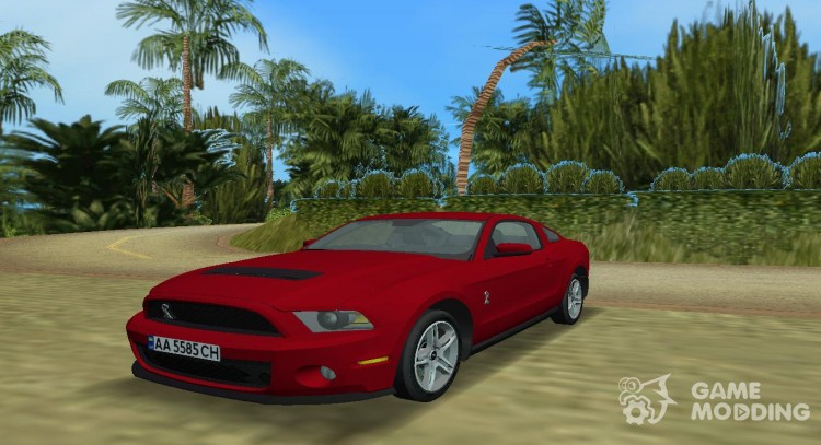 Ford Shelby GT 500 2010 для GTA Vice City