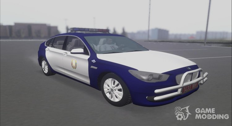 BMW 550i Police of the Republic of Belarus Special Unit Strela for GTA San Andreas