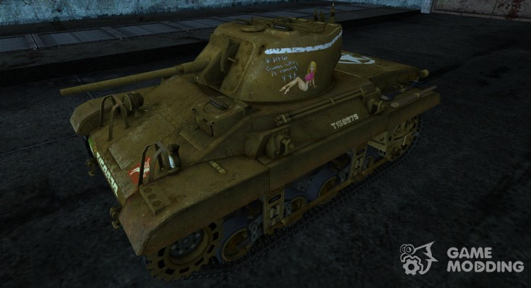 Skin for tank M22 Locust for World Of Tanks