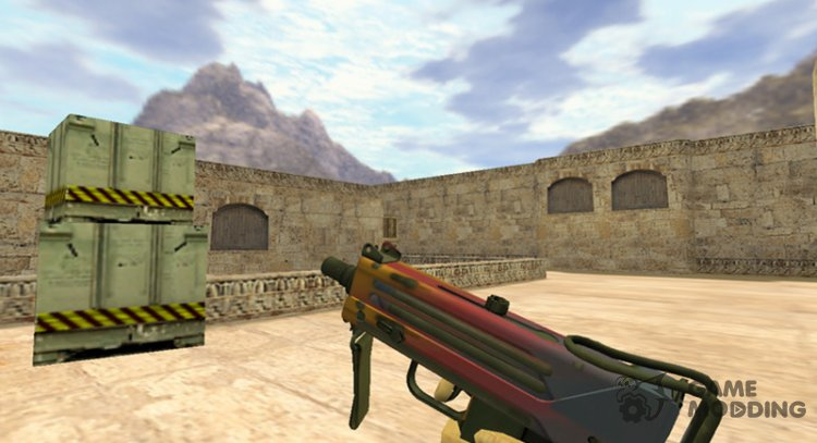 MAC-10 Gradient for Counter Strike 1.6