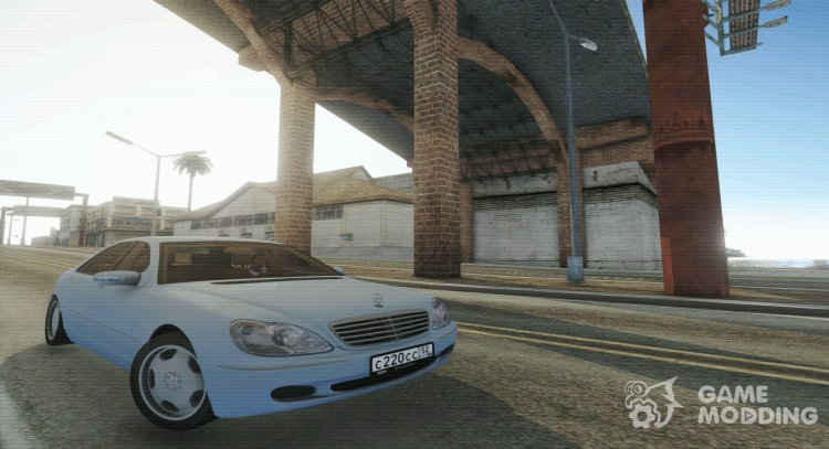 Mercedes-Benz S600 W220 for GTA San Andreas