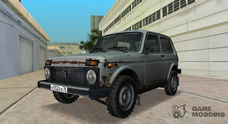 VAZ 2121 Niva from DayZ Standalone for GTA Vice City