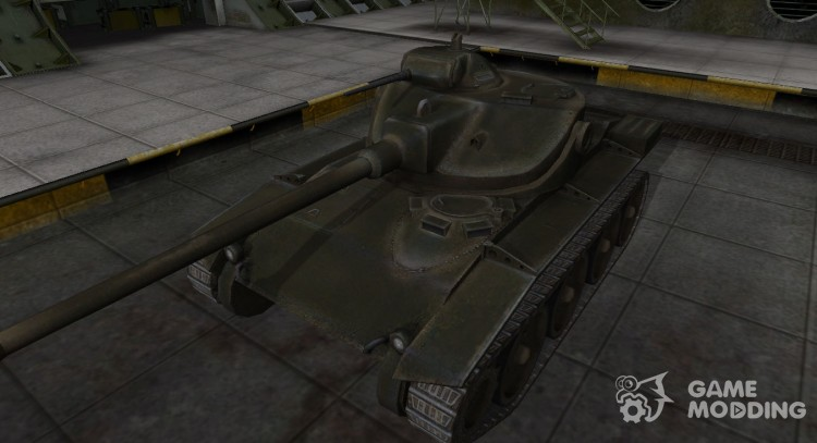 Emery cloth for American tank T71 for World Of Tanks