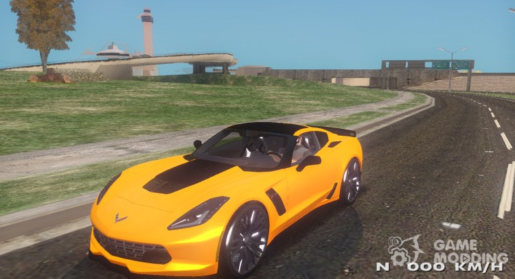 Chevrolet Corvette Stingray Z06 For Gta San Andreas
