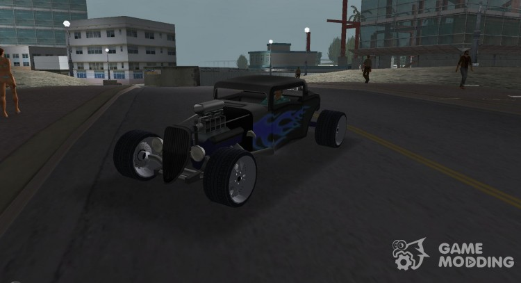 Ford Coupe Hotrod 34 для GTA Vice City