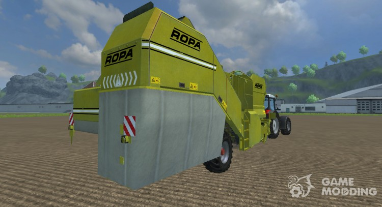 Ropa Keiler for Farming Simulator 2013