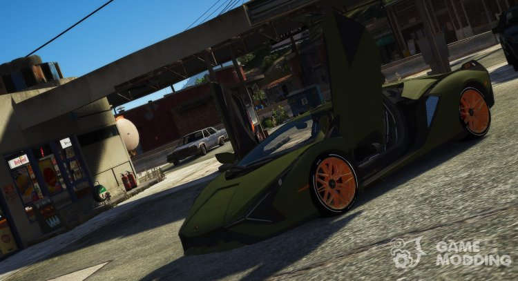 Lamborghini Sian for GTA 5