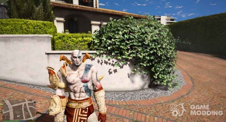 Kratos - God of War III - UPGRADED VERSION 2.0 for GTA 5